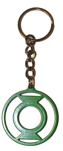 Green Lantern rare metal keyring