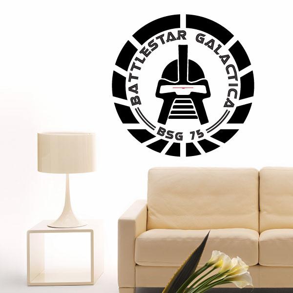 Battlestar Galactica scifi wall art giant sticker