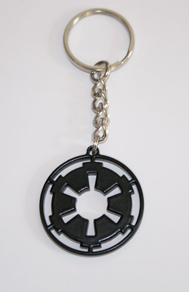 Star wars imperial rare metal keyring from the show