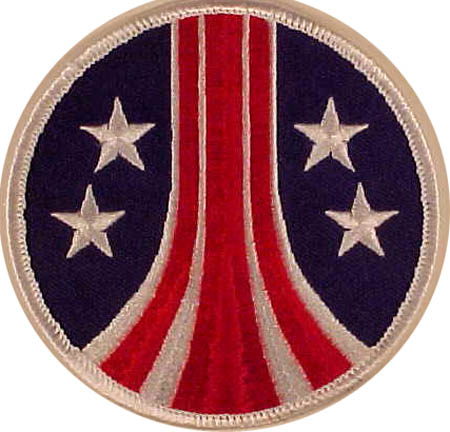 Alien crew patch. Stars and stripes patch.